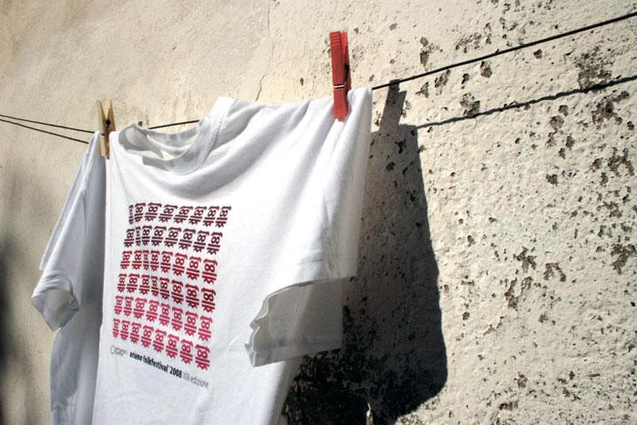 Ariano Folk Festival 2008. T-shirt