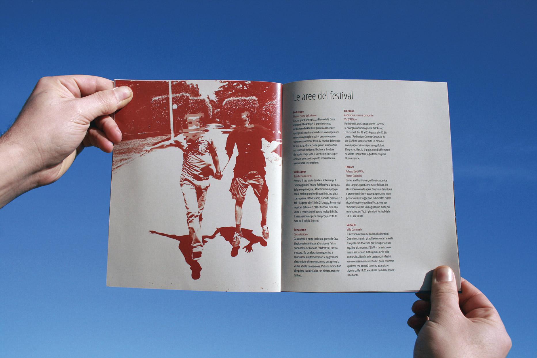 Ariano Folk Festival 2008. Booklet.