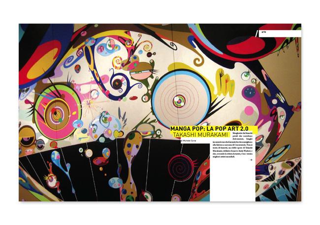 Em/me magazine. Pages layout.