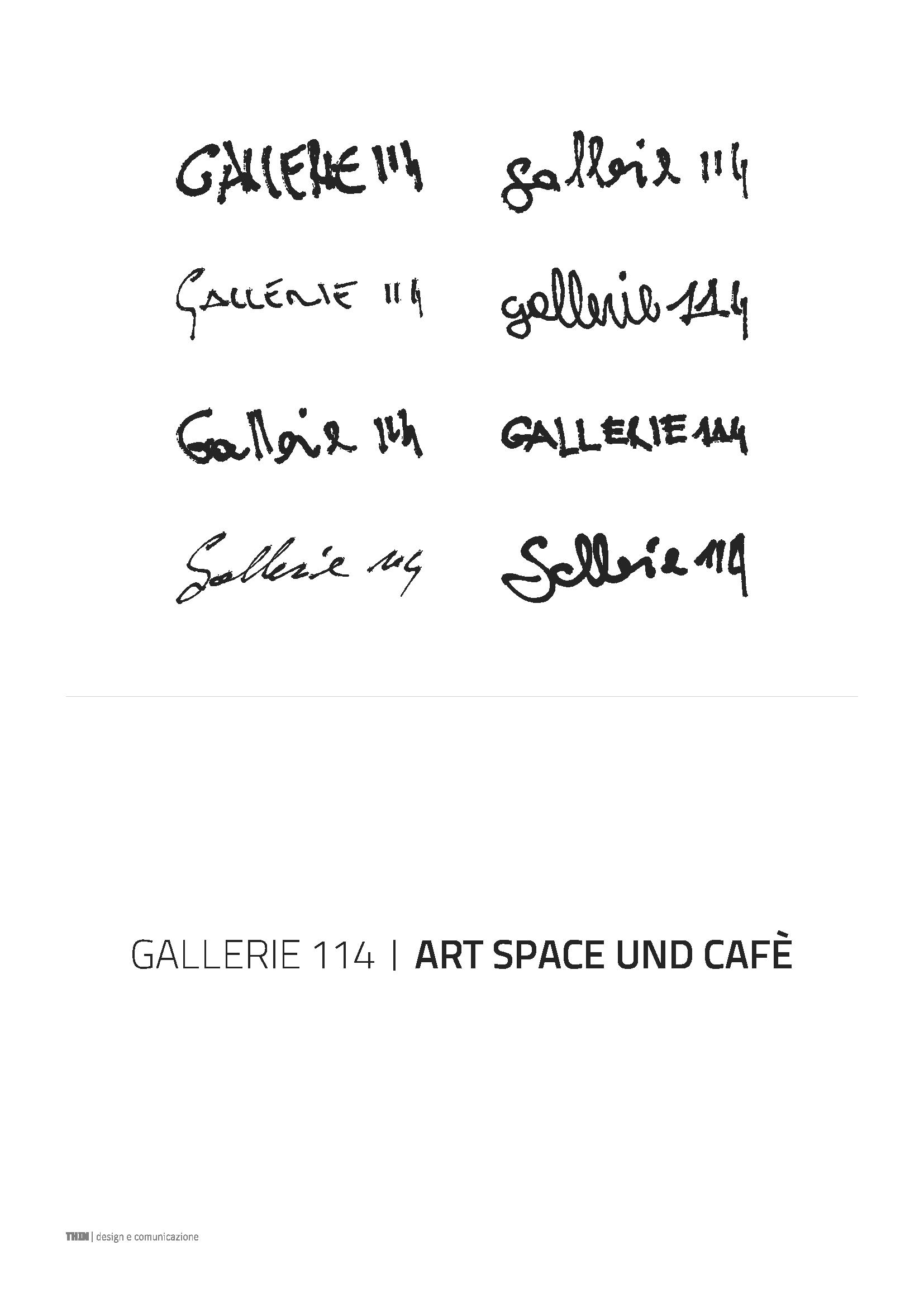 Gallerie 114. Logo