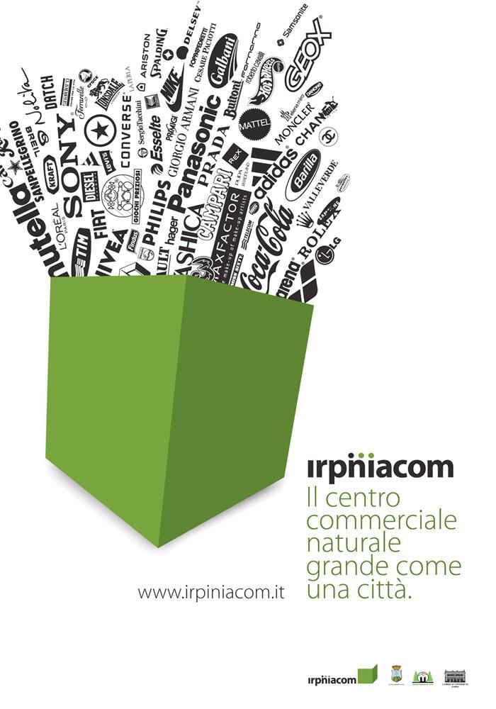 Irpiniacom. Poster design.