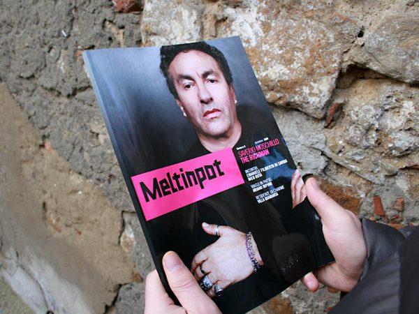 Meltinpot magazine. Cover design.