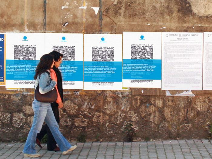Pro loco Valle Ufita. Poster mockup