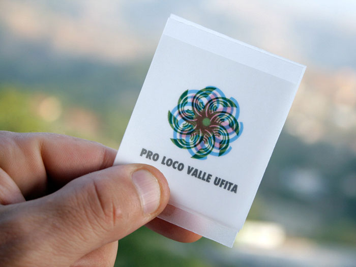 Pro loco Valle Ufita. Logo presentation