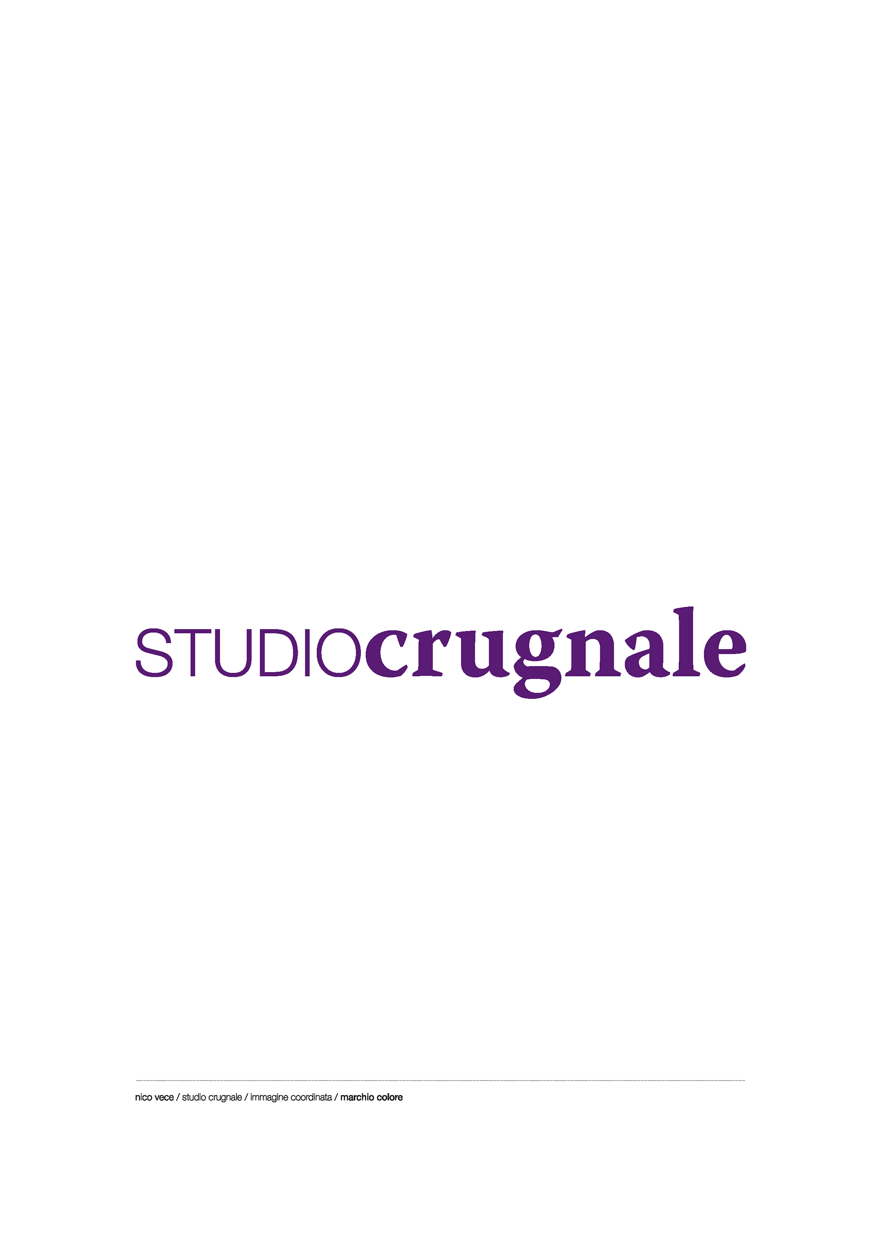 Studiocrugnale. Logo.