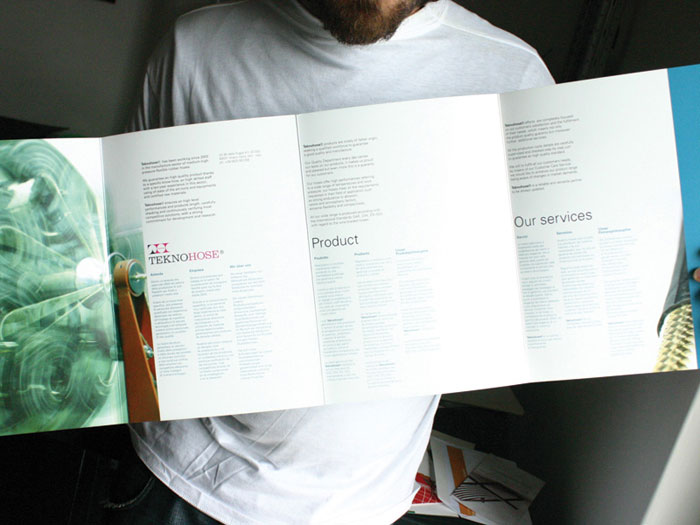 Teknohose. Brochure.